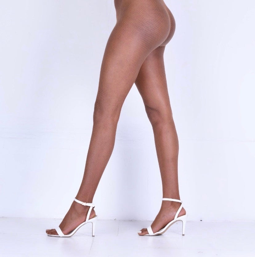 Nude Tight Modelled
